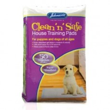 Johnsons Puppy House Training Pads 50 Pack