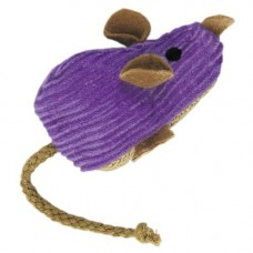 Kong Corduroy Mouse Refillable Cat Nip Toy