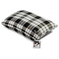 Do Not Disturb Black Tartan Fleece Mattress 100x150cm
