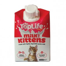 TopLife Milk for Kittens 200ml x 18