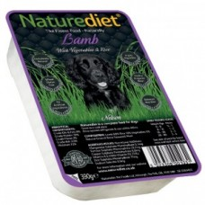 Naturediet Lamb and Rice 390g x18