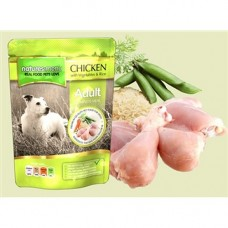 Natures Menu Chicken with Veg Dog Pouches 8x300g