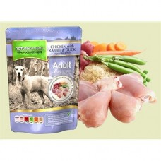 Natures Menu Chicken with Rabbit and Duck Pouches 8x300g