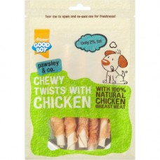 Good Boy Pawsley Chewy Twists with Chicken 90g