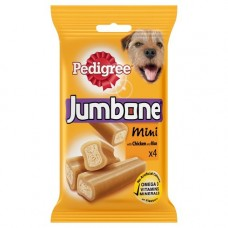 Pedigree JUMBONE® Mini with Chicken 4 Chews 180gx4