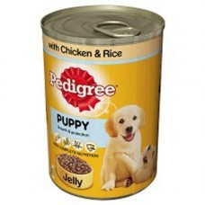 Pedigree Puppy in Jelly 6x400g Can