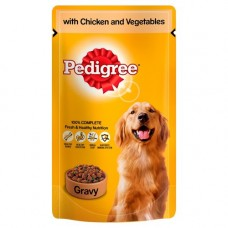 Pedigree Chicken and Vegetables in Jelly 24x100g Pouch