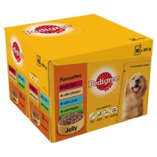 Pedigree Favourites in Jelly 24x100g Pouch