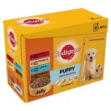 Pedigree Puppy Favourites in Jelly 12x100g Pouch