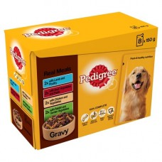 Pedigree Real Meals in Gravy 12x100g Pouch