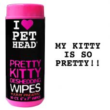 Pet Head Pretty Kitty Deshedding Wipes