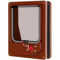 Pet Mate Electromagnetic Door Brown 254B
