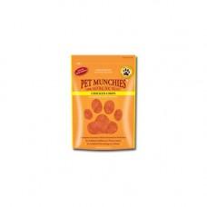 Pet Munchies Chicken Chips 100g 100% Natural