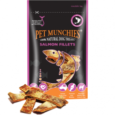 Pet Munchies Salmon Dental Fillets 90g 100% Natural