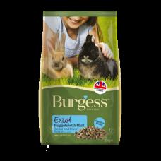 Burgess Excel Rabbit Junior and Dwarf Nuggets 10kg