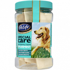 HiLife Daily Dental Chews Spearmint 180g Jar
