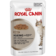 Royal Canin 12 x Ageing 12+ in Gravy 85g