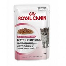 Royal Canin 12 x Kitten Instinctive in Jelly 85g