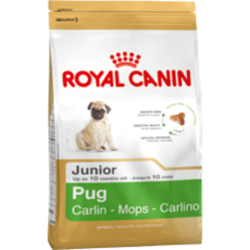 Buy Royal Canin Pug Puppy 5x 1 5kg (7 5kg) from Totallypets