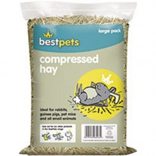 Bestpets Compressed Chaffed Hay Large