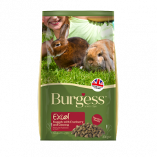 Burgess Excel Mature Rabbit Nuggets 2kg