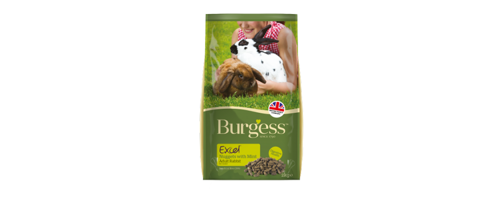 Burgess Excel Adult Rabbit Nuggets - Mint 4kg