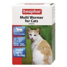 Beaphar Multi Wormer for Cats 12 Tablets