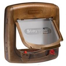 Staywell 400 Magnetic Delux 4 Way Lockable Door Wood