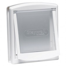 Staywell 700 2 Way Door White - Medium Dogs