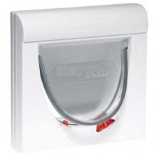 Staywell 900 Magnetic 4 Way Lockable Door White