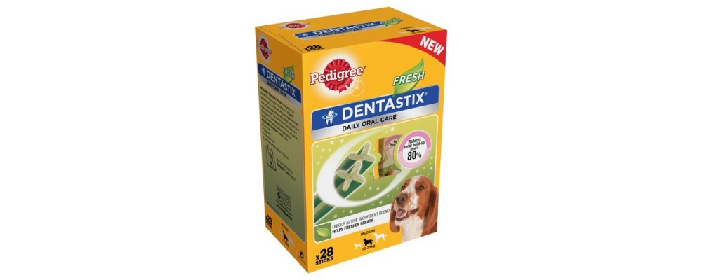 Pedigree DENTASTIX® Fresh 10-25kg Medium 28 Treats