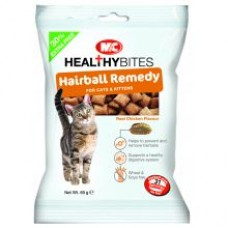 Mark and Chappell VETIQ Hairball Remedy Cat Treats 65g