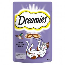 Dreamies Cat Treats - Duck 60g