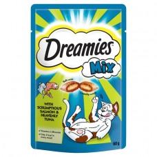 Dreamies Cat Treats - Salmon & Tuna Mix 60g