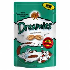 Dreamies Cat Treats - Turkey 60g