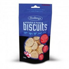 Hollings Fish and Potato Biscuits 75g