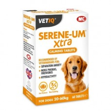 Mark & Chappell VETIQ Serene-Um Calm Xtra 60 Tablets