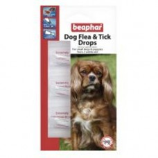 Beaphar Small Dog Flea and Tick Drops 3 Tube 12 Wk