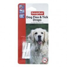 Beaphar Med / Large Dog Flea and Tick Drops 1 Tube 4wk
