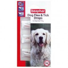Beaphar Med / Large Dog Flea and Tick Drops 3 Tube 12 Wk