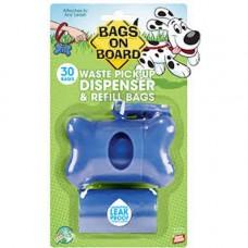 Bags On Board Dispenser Blue