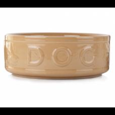Mason Cash Lettered Dog Bowl 5Inch - 12.5cm