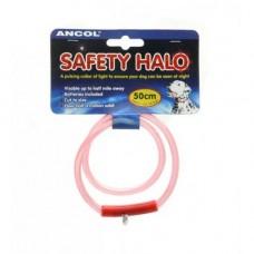 Ancol Safety Halo Flashing Collar 42cm Medium