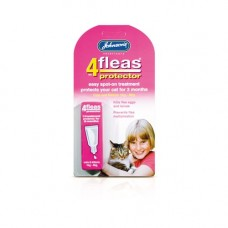 Johnsons 4-Fleas Spot On Cat and Kitten