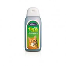 Johnsons Cat Flea Repellent Shampoo 200ml