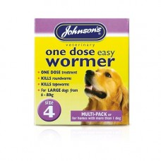 Johnsons One Dose Easy Wormer 8x500mg Tablets, Multi DELIST