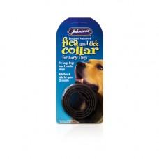 Johnsons Waterproof Plastic Flea Tick Collar, Lrg Dogs 65cm