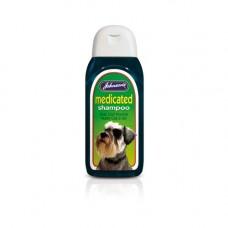 Johnsons Medicated Dog Shampoo 200ml