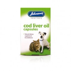 Johnsons Cod Liver Oil Capsules 40 Pack