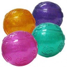 Kong Squeezz Sparkly Crackle Ball Large